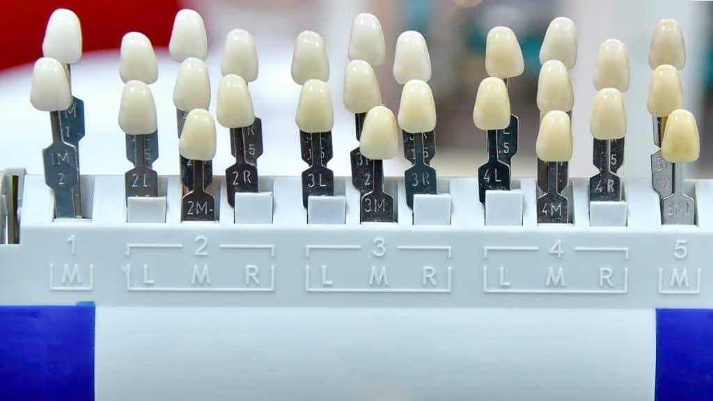 zirkonyum diş renkleri